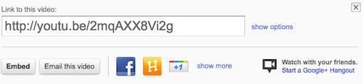Google Hangouts kunnen nu rechtstreeks vanuit YouTube worden gestart