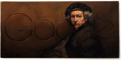 Google herdenkt Rembrandt met doodle