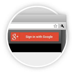Google introduceert Google+-sign-in als tegenhanger van Facebook Connect
