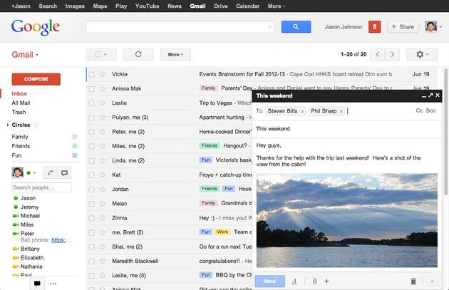 Google introduceert nieuwe manier van mailen in Gmail
