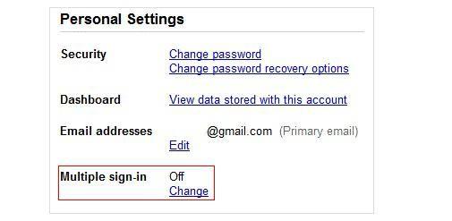 Google komt met functie voor Multiple accounts