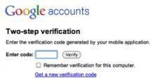 Google komt met Two-step-verificatie voor Google Apps gebruikers