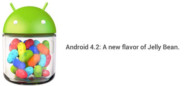 Google kondigt Android 4.2 aan