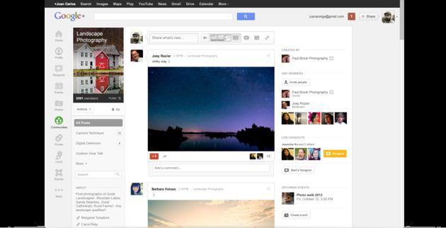 Google lanceert Google+ Communities