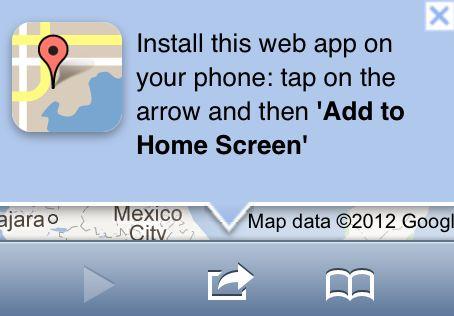 Google legt het uit; Google Maps gebruiken in iOS6