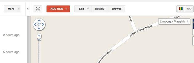 Google MapMaker gebruikers organiseren MapUp