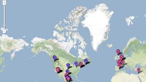 Google Maps brengt 'H1N1 Swine Flu' in kaart