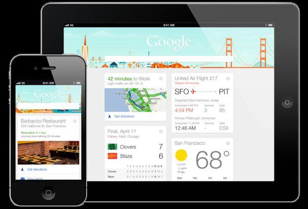 Google Now nu ook beschikbaar voor iOS