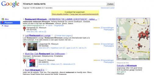 Google Places: optimaliseert local Search