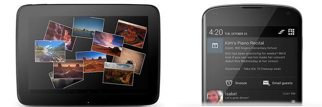Google presenteert Nexus 4 en Nexus 10