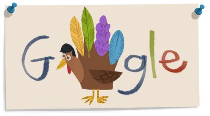 Google's Thanksgiving doodle