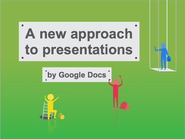 Google update: Google kondigt nieuwe versie 'presentaties' aan in Docs