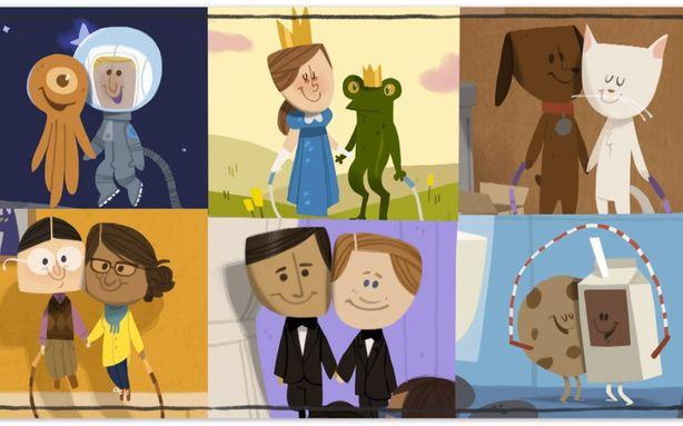 Google Valentijns Doodle