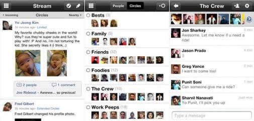 Google+ voor iPhone is nu beschikbaar