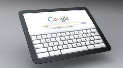 Google werkt aan concurrent iPad, the Google Pad