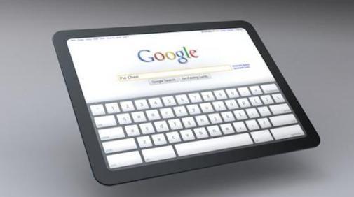 Google werkt aan concurrent iPad, the Google Pad