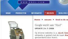 Google wil naam van stofzuigerfirma