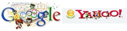 Google, Yahoo & Ask in Olympisch jasje