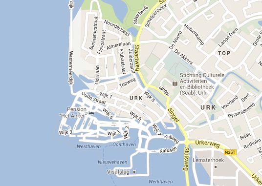 Google zet Urk onder water