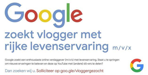 google-zoekt-vlogger