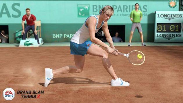 Grand Slam Tennis 2: vooral doorgaan