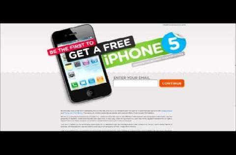 Gratis iPhone 5 via Facebook?