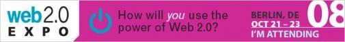 Gratis naar de Web 2.0 Expo in Berlijn