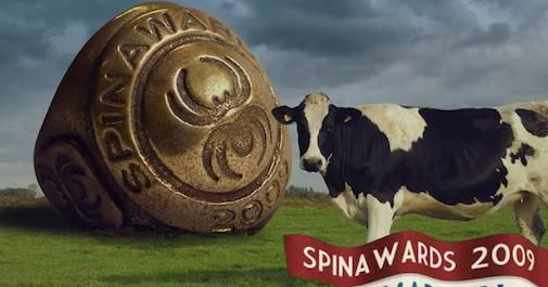 Gratis naar SpinAwards Night [uitslag]