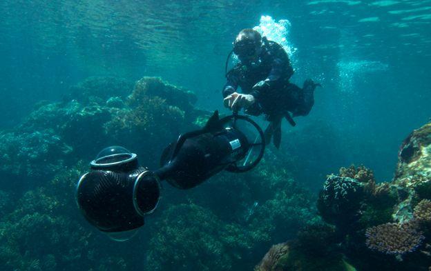 Great Barrier Reef straks te zien met Google Street View
