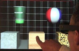 Haptic technologie van Microsoft simuleert aanraking