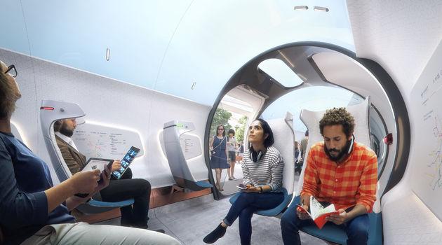 Hardt Hyperloop - Hyperloop Vehicle - Skylight - CopyrightPlompmozes