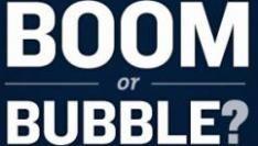 Hebben we nu te maken met een Tech Boom of is het een Bubble? [Infographic]
