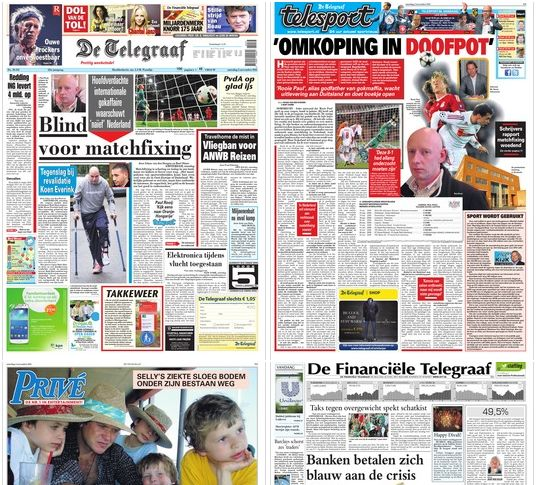 Het Telegraaf Concern en Hyves: onvermogen tot hervormingen