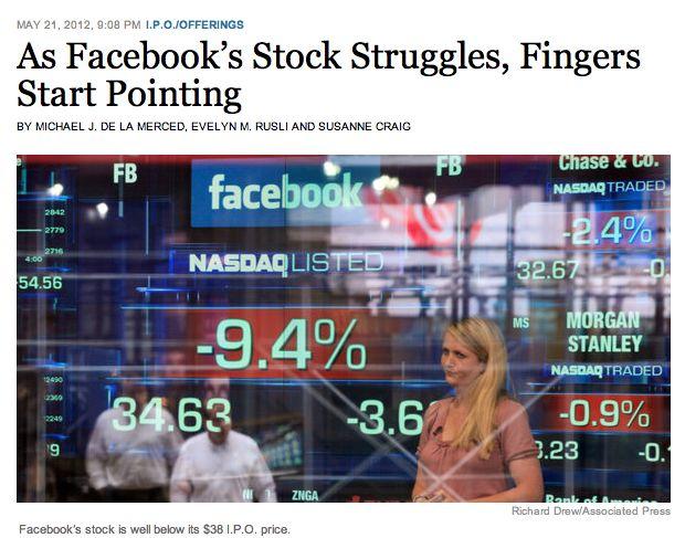 Het zoeken naar schuldigen voor Facebookdebacle is begonnen