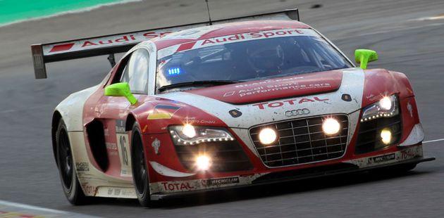 Historisch racesucces voor Audi: overwinning in Spa-Francorchamps
