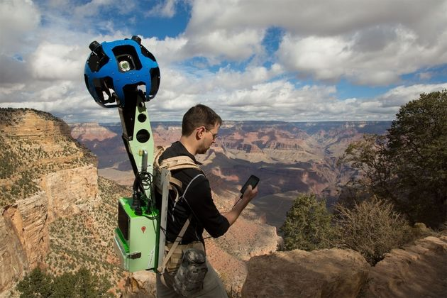 Hoe Google 'street-viewed' de Grand Canyon
