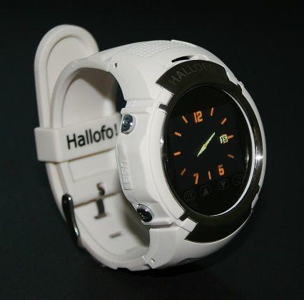 horloge telefoon Hallofo wit klein