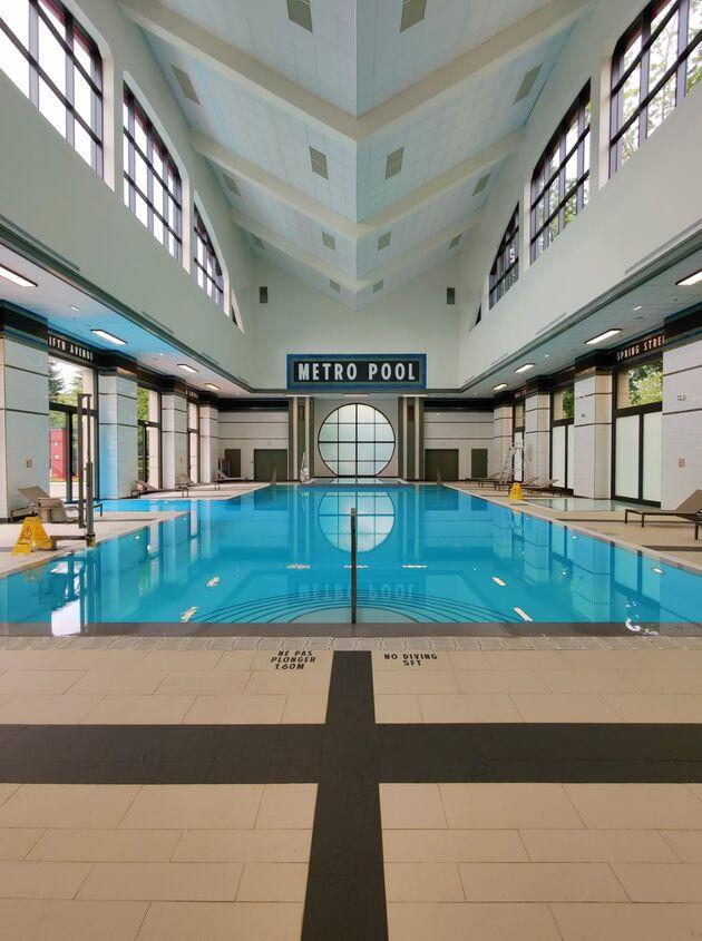 New York Hotel Zwimbad