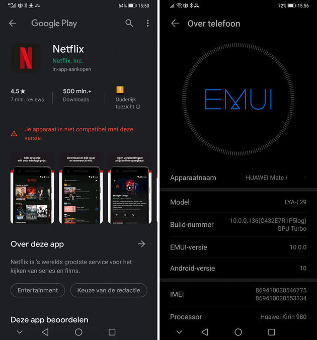 Huawei-Android10-issue