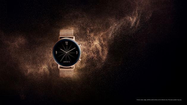 Huawei Watch GT 2 rose goud