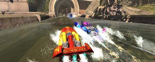Hydro Thunder gaat kort door de bocht (en wint)