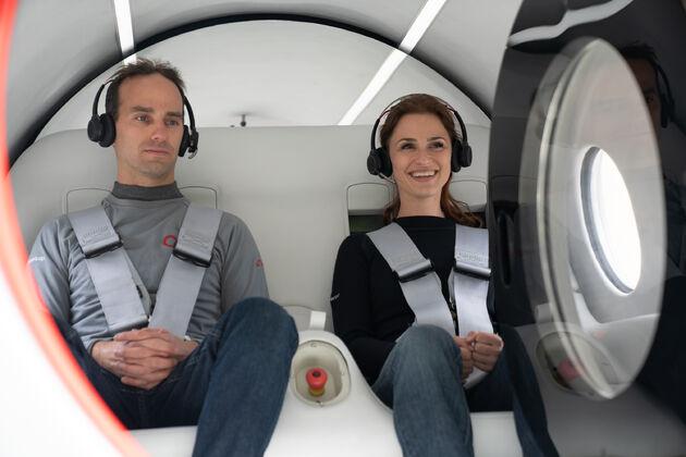Hyperloop Virgin test