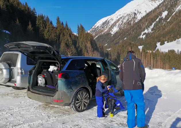 ideale familie auto Peugeot 5008
