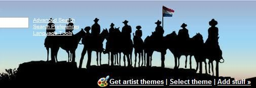 iGoogle Dutch Cowboys Skin