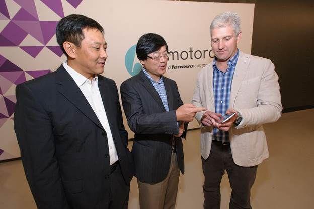 Motorola van Lenovo
