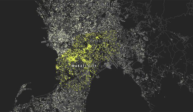 In welke stad worden de meeste #Selfies genomen?