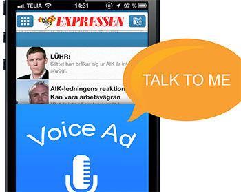 In Zweden is de eerste mobiele voice-ad campagne van start gegaan