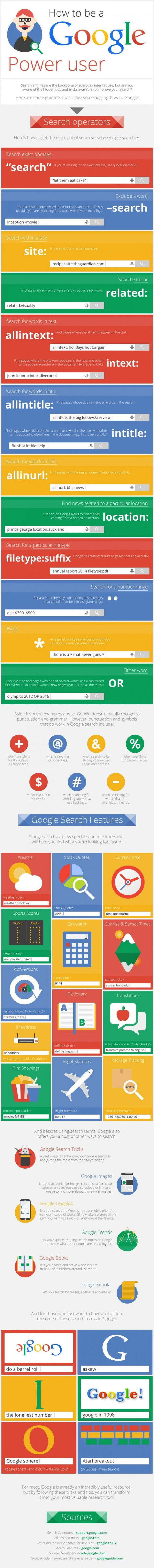 infographic zo word je een google power player