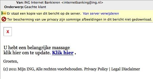 ING en XS4All gaan samen phishing e-mails aanpakken