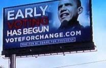 Ingame advertising van Obama